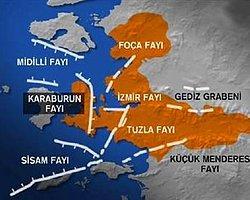 İzmir'de 5.0 Büyüklüğünde Deprem!