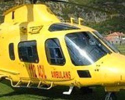 Maçın 67. Dakikasında Sahaya Hava Ambulansı İndi