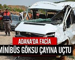 Minibüs Göksu Çayı'na Düştü: 4 Ölü, 6 Kayıp