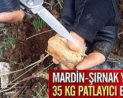 Terörist 35 Kg Patlayıcıyla Yakalandı