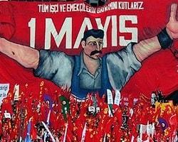 """""""Anti Kapitalist Müslüman Gençler"""" Namazdan Sonra Taksim'de"""
