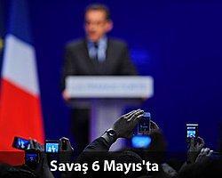 Hollande, Sarkozy'yi 'Sol'ladı