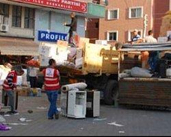 Sarıyer'de Van Yardımları Çöpe Gitti!