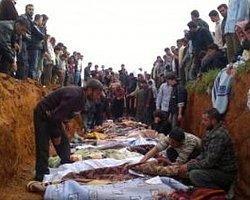 Suriye'de Toplu Mezar! Şok Görüntüler