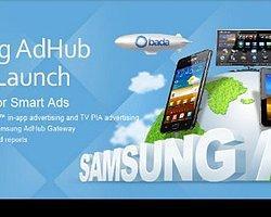 Samsung, reklam pazarına da el attı: AdHub