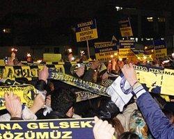 Fenerbahçeliler 'Tahliye Günü' Çağlayan'a