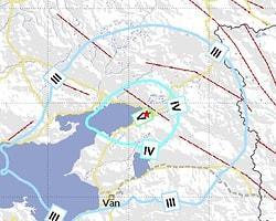 Van'da 4.5 Şiddetinde Deprem
