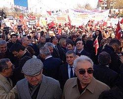 'CHP Otobüsleri Durduruldu'