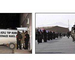 Afganistan'da Şehitlere Hüzünlü Tören