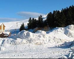 Uludağ'da kar kalınlığı 3,50 metre