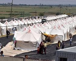 Van'da çadırlar toplandı