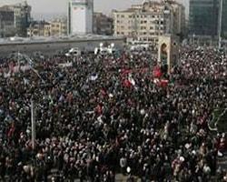 Taksim'de dev miting