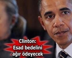 Obama'da Suriye sözü!