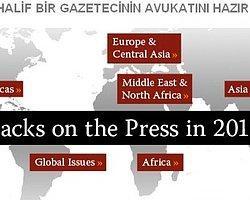 """""""2011 Basına Saldırılar"""" Raporu Açıklandı"""