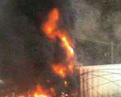.Göreve giden gazeteci 4 kişilik ailesiyle yandı
