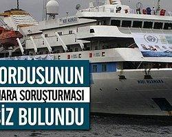 'Mavi Marmara'yı Siviller Araştırsın'