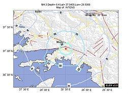 Kandilli.info[M4.3 - KARABOGURTLEN-ULA (MUGLA)]
