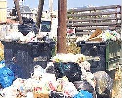 Başbakanlık Binasına Çöp Yağdı