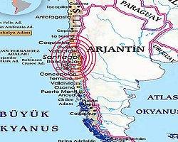 Şili'de 6.2 Büyüklüğünde Deprem