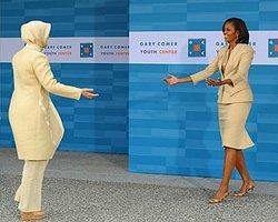 First Ladyler Mutfakta