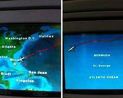 Bermuda Şeytan Üçgeni, Uçaklara Rota Değiştirtiyor