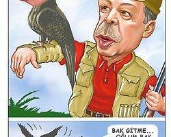 Cumhuriyet Gazetesi'nden Erdoğan'ı Kızdıracak Karikatür