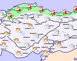 29.05.2012 - Günlük Raporlar - Meteoroloji Genel Müdürlüğü