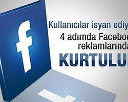 4 Adımda Facebook Reklamlarından Kurtulun