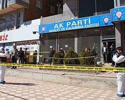 AK Parti Diyarbakır İl Başkanlığına Ses Bombası Atıldı