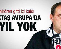 UEFA'dan Beşiktaş, Bursa ve G. Antep'e 1 Yıl Men