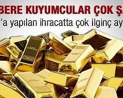 Türkiye İran'a Tonlarca Altın Sattı