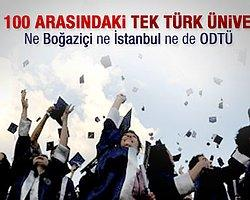 Bilkent Dünyanın En İyi 100 Üniversitesi Arasına Girdi