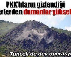PKK Tunceli'de Araç Yaktı