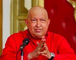 Hugo Chavez Yeniden Basın Karşısında