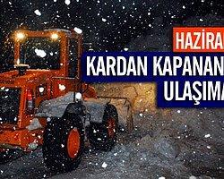 Kardan Kapanan Köy Yolu Ulaşıma Açıldı