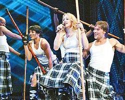 Madonna konserine saatler kala...