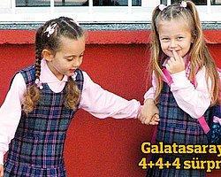 '4+4+4'te Ortaokul Sınırlaması'