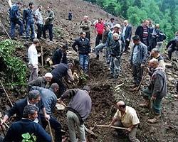 Trabzon'da Heyelan: 2 Ölü