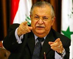 Talabani'den ikna girişimi