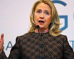 Clinton: 'ABD'den Türkiye'ye Yaptırım Yok'