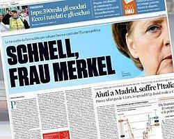 İtalyanlardan Almanca Çağrı: Acele Et Merkel
