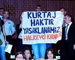 Kadın Bakan'a kürtaj protestosu