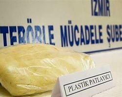 İzmir'de 22 Kilogram Patlayıcı Ele Geçirildi