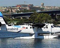 Deniz Uçağı Haliç'e İlk İnişini Yaptı