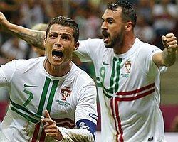 Ronaldo Attı, Portekiz Turladı
