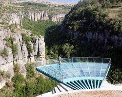 İncekaya Kanyonu'na Camdan Seyir Terası