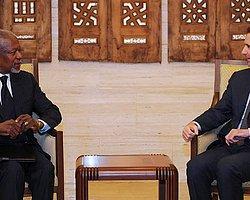 Kofi Annan Şam'da