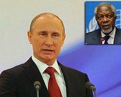 Putin'den Annan'a Destek