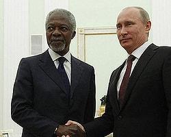 Putin: 'Çözüm İçin Tek Yol Annan Planı'