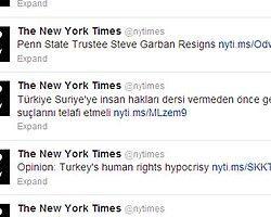 Türkiye'nin ikiyüzlülüğü